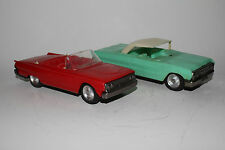 1962-63 Ford Galaxie and Chevrolte Impala Plastic & Tin Friction  Parts Cars