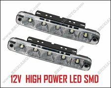 COPPIA LUCI DIURNE 5 LED DAYLIGHT ALFA BMW FORD