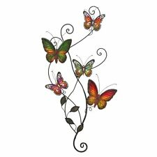 Woodland Imports 13612 Metal Butterfly Wall Decor