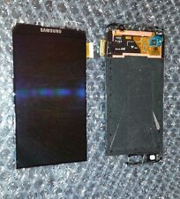 Great Black Samsung Galaxy S6 G920 LCD Touch Screen Digitizer Paint Blemish ~