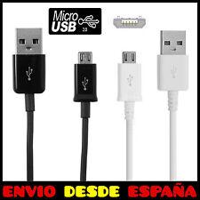 CABLE MICRO USB DE DATOS Y CARGA PARA MOVIL SAMSUNG, SONY, XIAOMI, LG, HUAWEI