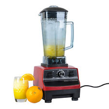 2L Commercial Food Pro Vegetable Fruit Juicer Blender Mixer Heavy Duty 220V Red