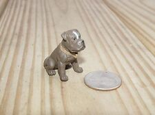 BULL DOG SITTING G SCALE 1/18TH OR 1/24TH SCALE DIORAMA ACCESSORY!