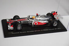 SPARK VODAPHONE MCLAREN MERCEDES MP4-26 #3 WINNER CHINESE GP 2011 1:43