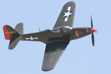 "Giant 1/5 Scale Bell P-63A KINGCOBRA scratch build R/c Plane Plans & Inst 90""WS"