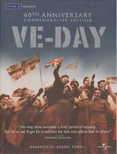 VE DAY - THE END IN EUROPE: EASTERN & WESTERN FRONTS. 60th Anniv (NEW/SEALED DVD