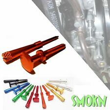 KTM 125 250 SX Moto X Easy Adjust Idle Screw & Air Screw Set  Orange Anodised