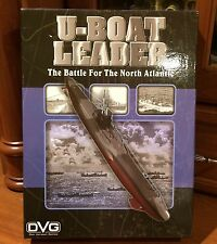 DAN VERSSEN GAMES U-BOAT LEADER Battle for North Atlantic ~ Board Game - NEW!