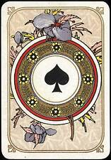 A5 Print – Vintage Playing Card Ace of Spades (Picture Poster Poker Art)
