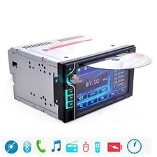 "Double 2 Din 6.2"" In Dash Stereo Car DVD CD Player Bluetooth Radio SD/USB+Remote"