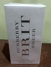 Treehousecollections: Burberry Brit Sheer EDT Perfume Spray For Women 100ml