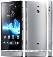 "Sony Ericsson Xperia P LT22i Android 8MP 4"" Unlocked Smartphone 16GB Silver"