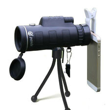 Panda 35X50 HD Zoom Green Night Vision Lens Armoring Monocular Telescope +Clips