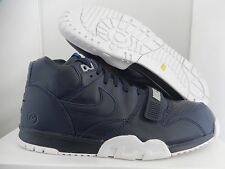 NIKE AIR TRAINER 1 MID SP/FRAGMENT OBSIDIAN NAVY BLUE-WHITE SZ 7 [806942-44