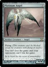 PLATINUM ANGEL Tenth Edition MTG Artifact Creature — Angel RARE