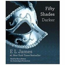 Fifty Shades Trilogy: Fifty Shades Darker Bk. 2 by E. L. James (2012, CD,...
