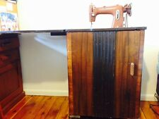 Art Deco sewing cabinet w machine