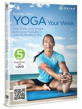 RODNEY YEE :YOGA FOR YOUR WEEK (5 practices) -  DVD - Region 2 UK Compatible NEW