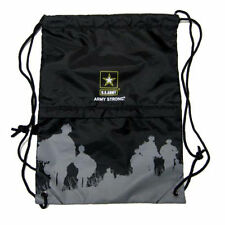 US ARMY ARMY STRONG DRAWSTRING BAG BACKPACK TRAVEL STRING POUCH-BRAND NEW!