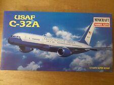 "1:144 Minicraft n. 14451 USAF c-32a. ""Legends of Aviation"". KIT. SCATOLA ORIGINALE"