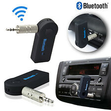 Wireless Bluetooth 3.5mm AUX Audio Stereo Music Car Receiver Adapter with Mic PC