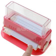 Red Dental Plastic Micro Applicator Dispenser Cotton Dispenser Brush Dispenser