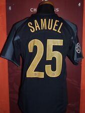 SAMUEL INTER CHAMPIONS 05/06 MAGLIA SHIRT CALCIO FOOTBALL MAILLOT JERSEY SOCCER
