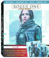 NEW SEALED Rogue One: A Star Wars Story Target Exclusive 3D Blu-ray DVD 5 Covers