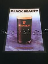 Guinness 1970s Black Beauty Pure Genius Irish Advert Stout - Print