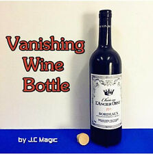 Vanishing Wine Bottle,close up,street bar stage magic trick,Fun Magic,illusion