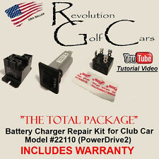 Battery Charger Repair / Rebuild Kit / PowerDrive2 22110 / WARRANTY for Club Car