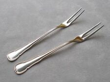 *RAR* 2 großen Fleischgabeln WMF 3200 Barock in 90er Silber