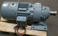 Sumitomo Cyclo 2.2kW Electric Motor Brake Gearbox Straight Drive 50RPM