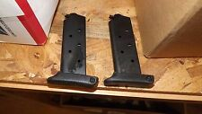 2 - NEW 6rd extended Blued magazines mags clips for Detonics .45acp     (D117*)
