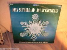 Joan Sutherland - Joy of Christmas OS 25943 VG / VG