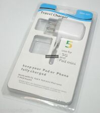 Travel Charger For Apple iPhone 5 iPad Mini Nano 7 iPod Touch 5