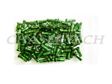 "New MTB Road BMX Bike 7075 Alloy Spoke Nipples 2.0mm 14G 1/2"" 100 Pcs Green"