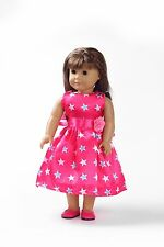 """Handmade dolls' Clothes fashion Dress for 18"""" American Girl Doll Ball gown x123"""