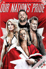 WWE 2016: OUR NATION'S PRIDE - THE BEST OF CANADIAN (NEW DVD)