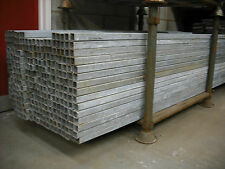 4 Galvanised Box Section.40 x 40 x 3mm,4 Galvanised Fence Posts 2.4mt,Used