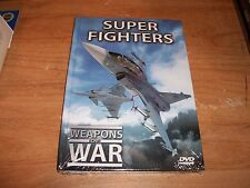 Super Fighters Weapons Of War Combat DVD Discover The Power Of Their Weapons NEW