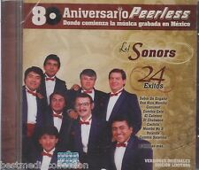 Los Sonors CD NEW 24 Exitos 80 Aniversario PEERLESS Brand New SEALED