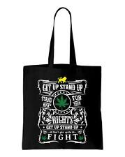 Get Up Stand Up Lyrics Shoulder Bag - Reggae Rasta Bob Marley Weed Cannabis