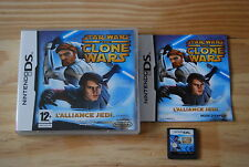 STAR WARS THE CLONE WARS - NINTENDO DS