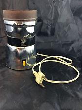 ANCIEN MOULIN A CAFE ELECTRIQUE SEB CHROME 1960/70 FONCTIONNE 220 V