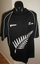 New Zealand Black Caps Cricket Jersey Men's Size XL