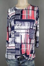 NEW WOMEN  TUNIC BLOUSE size 18/20 TOP  3/4  SLEEVE  LADIES  v  7554
