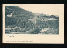 Switzerland VULPERA c1902 u/b PPC