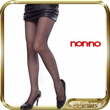 NEW * non-no * BLACK OL Stockings Hosiery Pantyhose Lingerie 6200