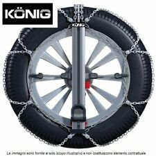 Catene da Neve 9mm KÖNIG / THULE EASY FIT CU-9 GR.90  205/55R16 205 55 16